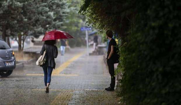 Meteoroloji uyardı: Sıcaklıklar 10 derece birden düşecek, sağanak yağış geliyor - GÜNCEL Haberleri