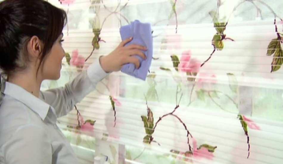Stor perdeler çıkarılmadan nasıl temizlenir? Evde stor perde temizlenin püf noktaları