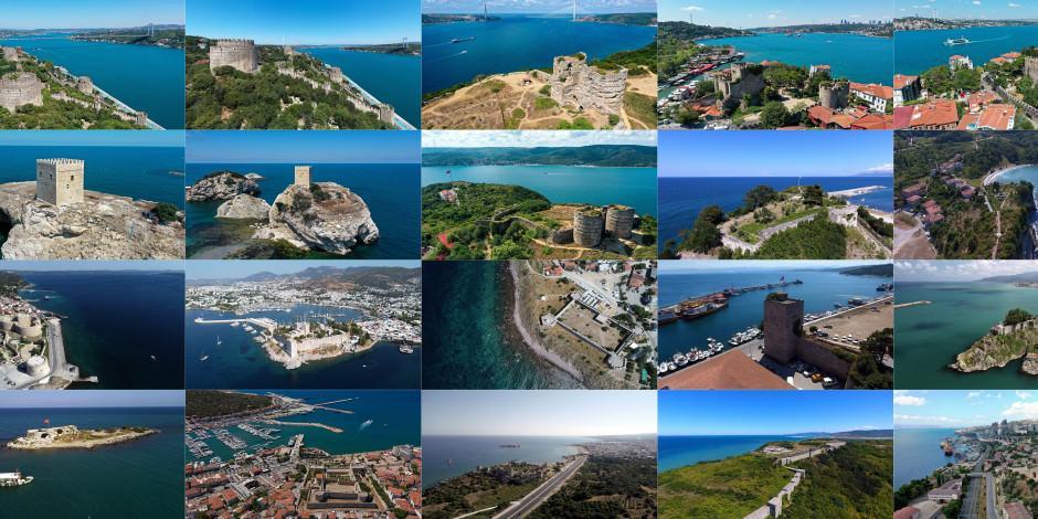 Türkiye'nin asırlara meydan okuyan 'denize nazır' kaleleri