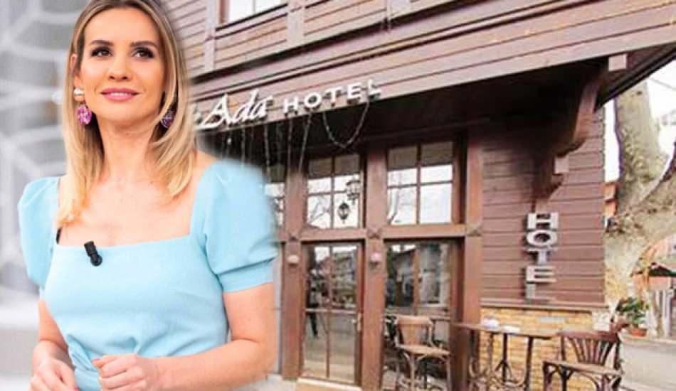 Esra Erol butik oteli için kolları sıvadı!