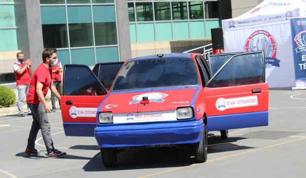 Üniversiteden yüzde 100 yerli elektrikli otomobil