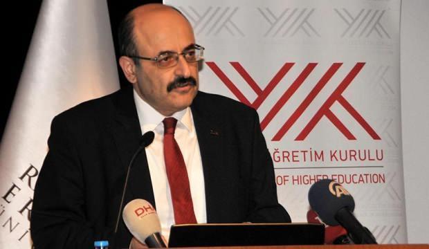 YÖK Başkanı Saraç'tan son dakika açıklamalar