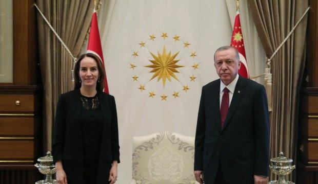 Başkan Erdoğan Gabriela Cuevas Barron'u kabul etti