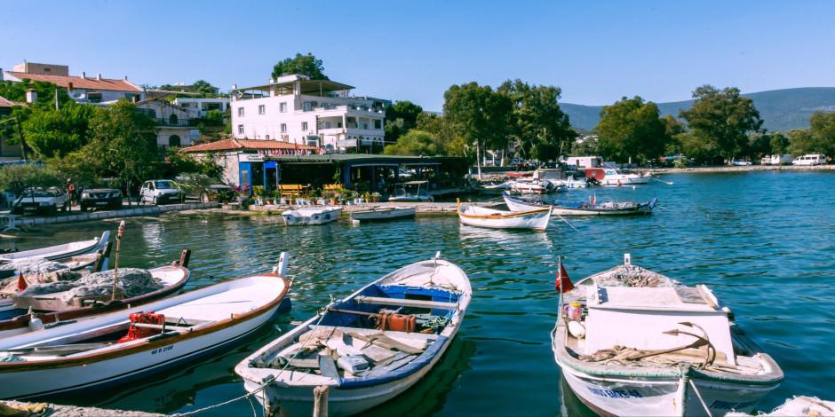 Sessiz sakin balıkçı kasabası: Güllük Körfezi