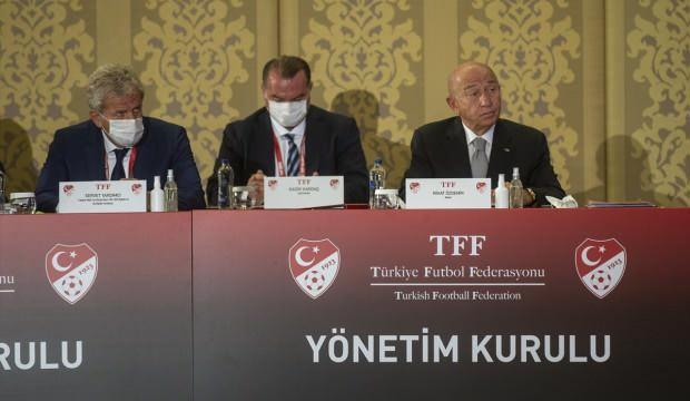 TFF Başkanı Özdemir ve yönetim kurulu ibra edildi