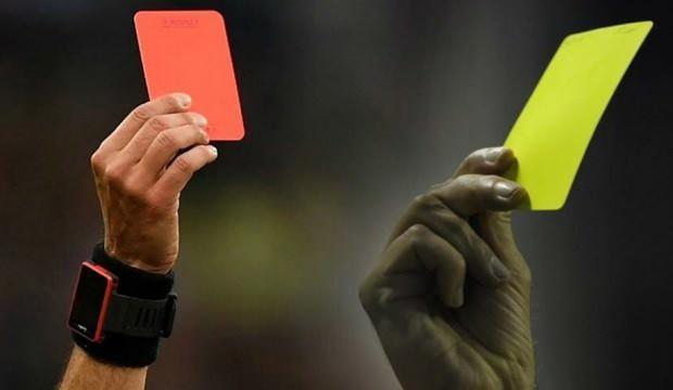 TFF'den kırmızı kart değişikliği