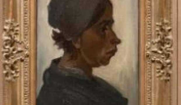 Van Gogh'un 'Kadın Başı' tablosu 1,6 milyon Euro'ya satıldı