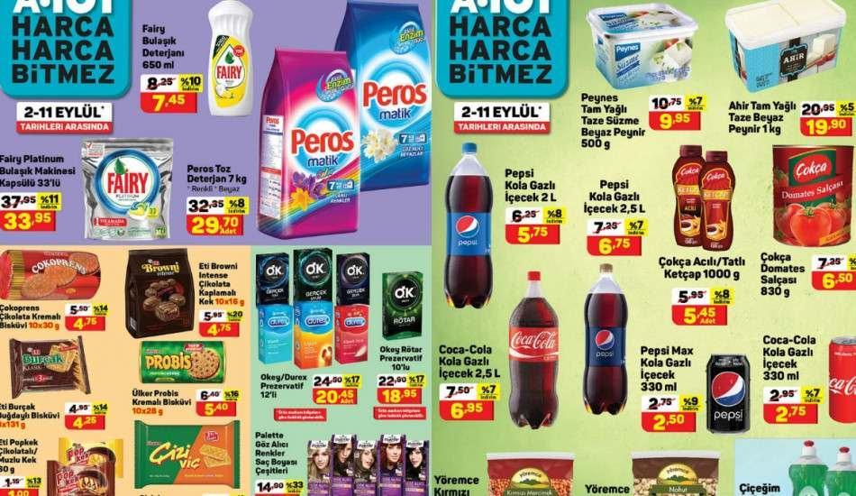 19-25 Eylül arası A 101 marketlerde haftanın yıldız ürünleri! A 101 kataloğunda neler var?