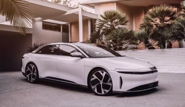 Lucid Motors, yeni elektrikli lüks otomobilini tanıttı
