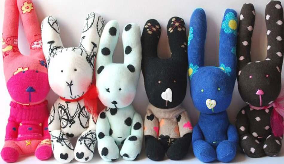 Çoraptan kedi oyuncak nasıl yapılır? Çocuklar için çoraptan kedi oyuncak yapımı