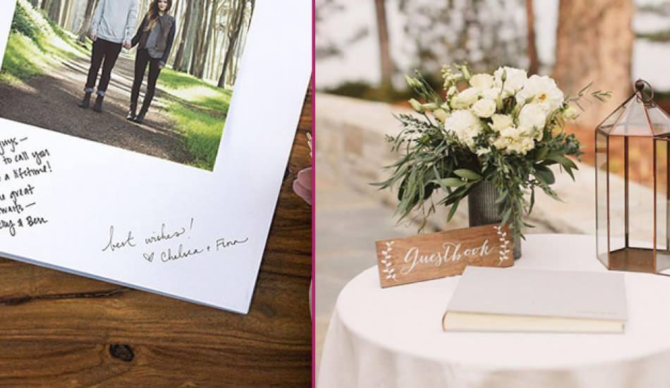 Düğün anı defteri fikirleri