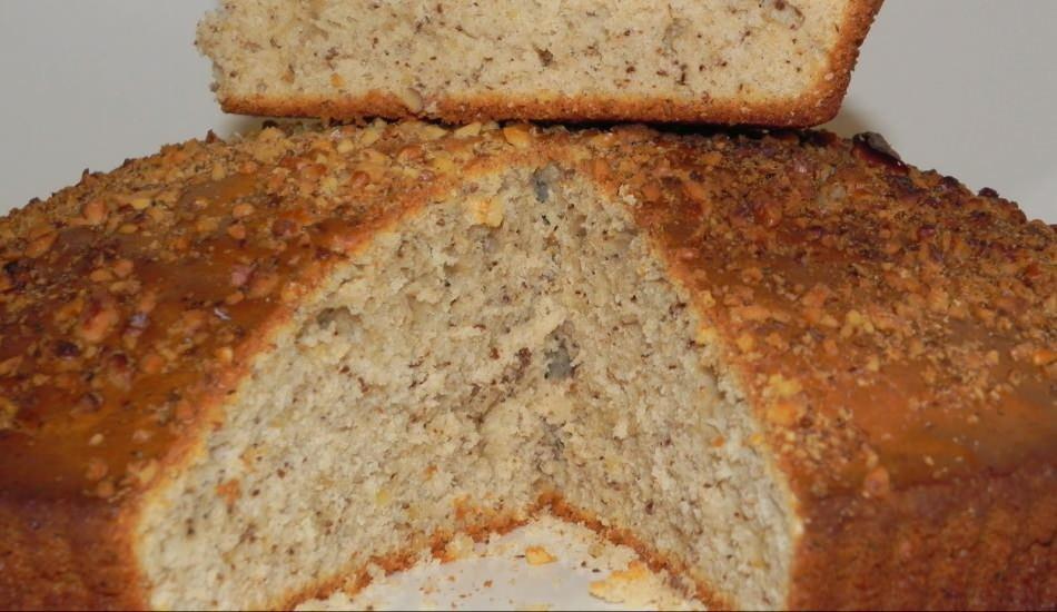 En kolay cevizli kek nasıl yapılır? Cevizle yapılan enfes kek tarifi