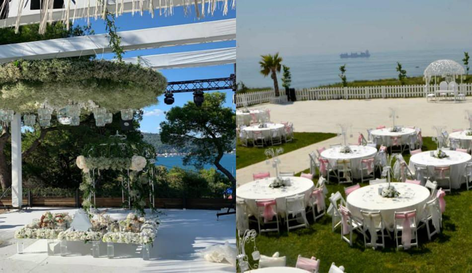 İstanbul'da en güzel açık hava düğün mekanları