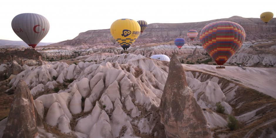 Kapadokya balonlarında pandemi kuralları