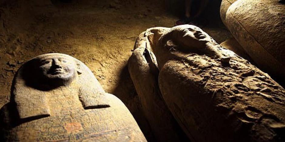 Mısır'da 2 bin 500 yıllık keşif
