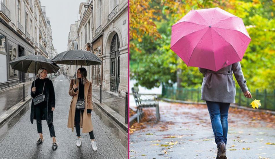 Yağmurlu günler için stil önerileri