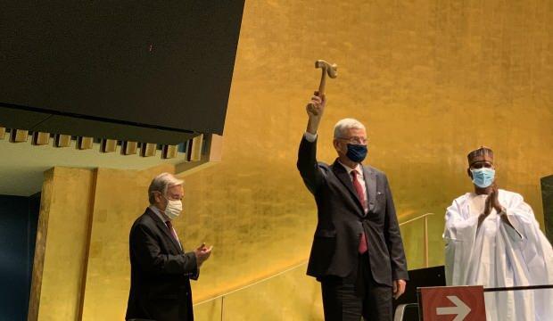 BM Genel Kurulu Başkanlığı'na seçilen Volkan Bozkır görevi devraldı