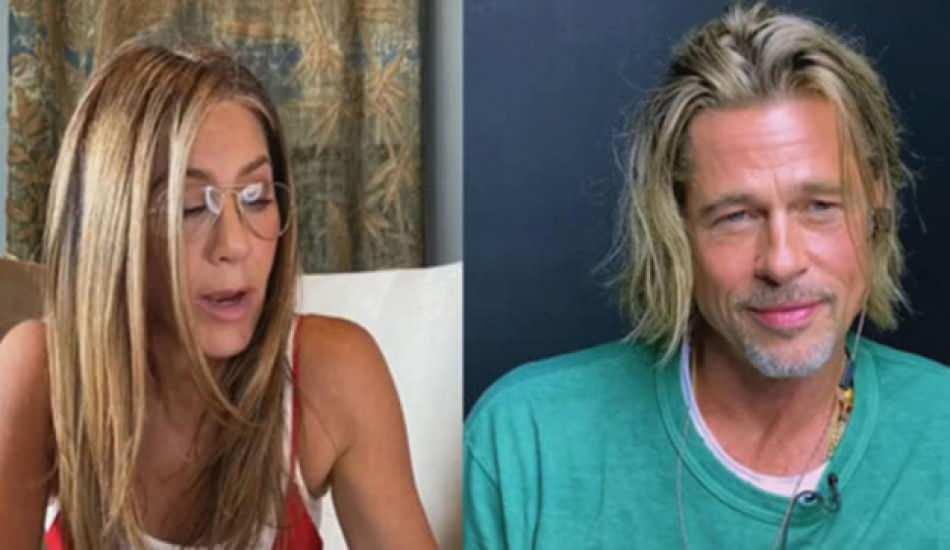 Brad Pitt ve Jennifer Aniston okuma etkinliğinde buluştu