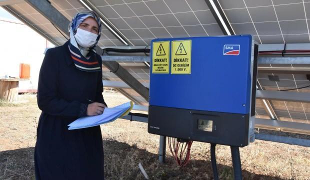 Eşinin hayalini 20 yıl sonra gerçekleştirdi: 300 eve elektrik veriyor