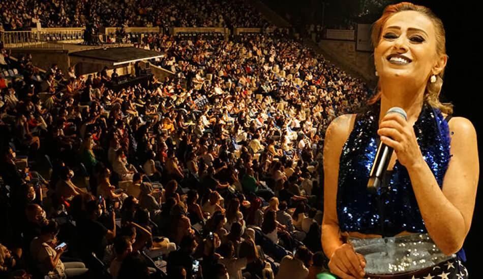 Harbiye'deki Yıldız Tilbe konserinde yine kurallar hiçe sayıldı!
