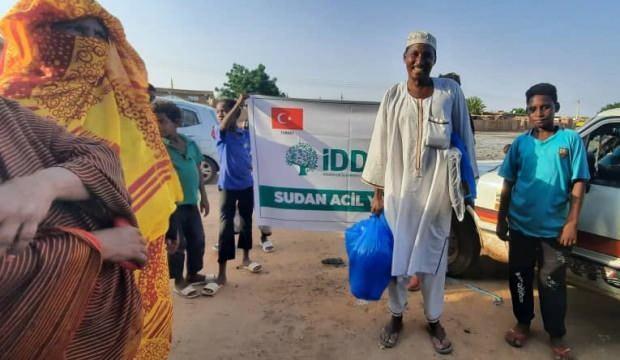 İDDEF'ten Sudanlı Sel Mağdurlarına Yardım Eli