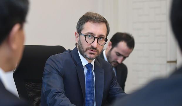 İletişim Başkanı Altun'dan terörle mücadele açıklaması; En sert şekilde cevap alacaklar
