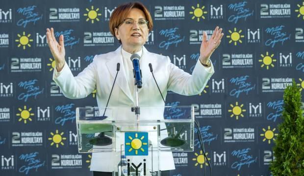 İYİ Parti'de Akşener yeniden seçildi!