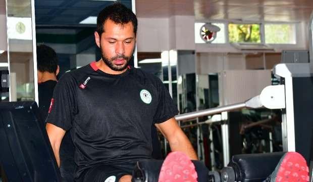 Konyaspor'da Serkan Kırıntılı affedildi