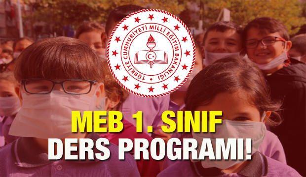 MEB 1. sınıf  21 Eylül ders programı açıklandı! Ders ve teneffüsler kaç dakika olacak?