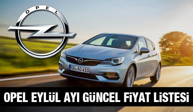 Opel 2020 model güncel araç fiyatları! İşte Insıgnia Astra Crossland X fiyat listesi