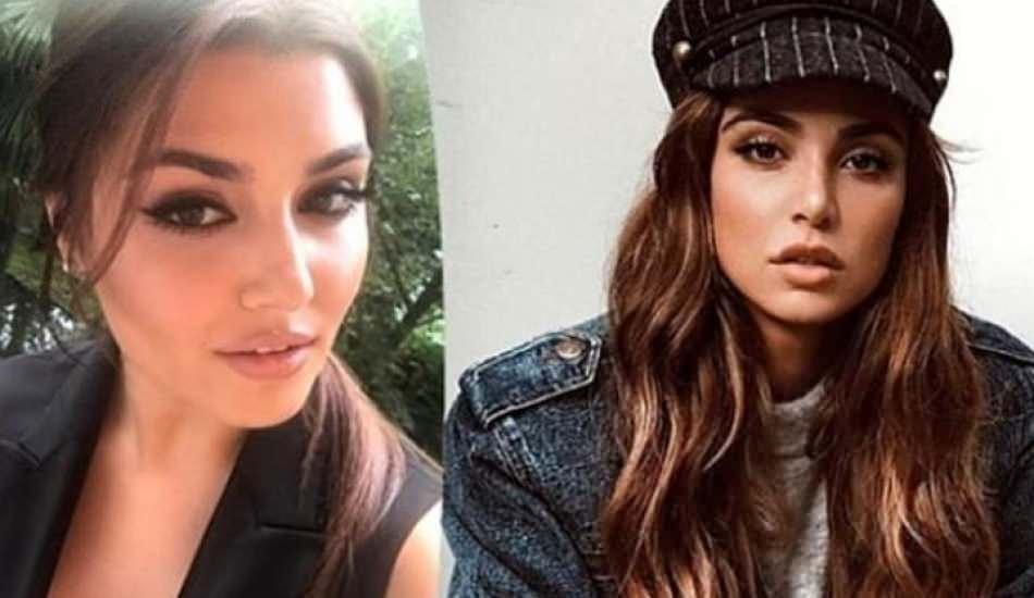 Oyuncu Hande Erçel ile YouTuber Negin Mirsalehi'nin benzerliği şaşırtıyor!