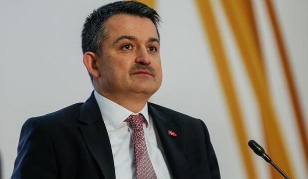 Bakan Pakdemirli: 17 milyar lira hesaplara yattı
