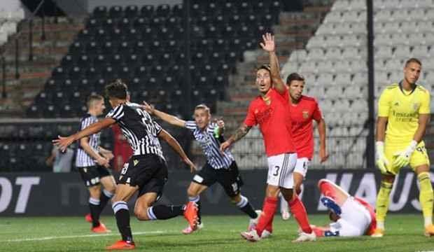 Paok, Benfica'yı da eledi