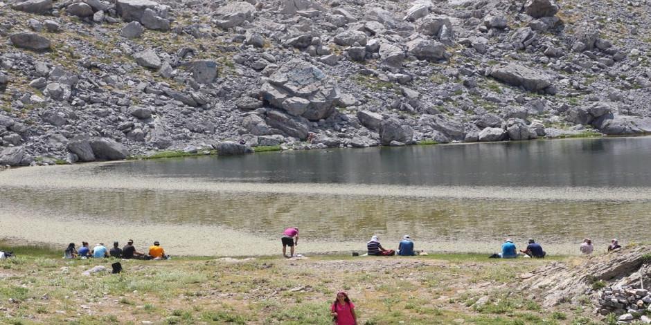 Trekking tutkunlarının gözdesi Anamas Dağı Krater Gölü