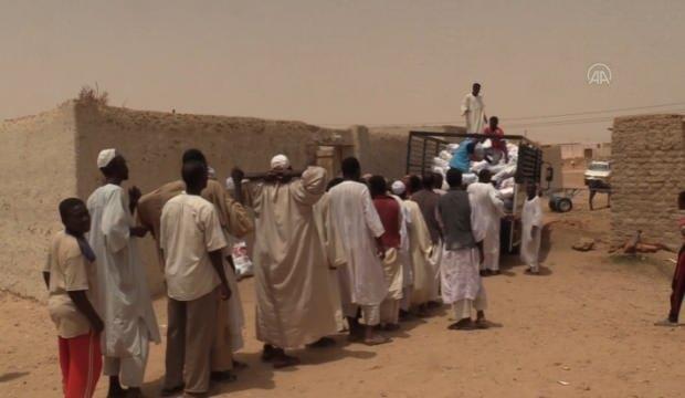 Türkiye Diyanet Vakfı, Sudan'da sel mağduru 700 aileye yardım dağıttı