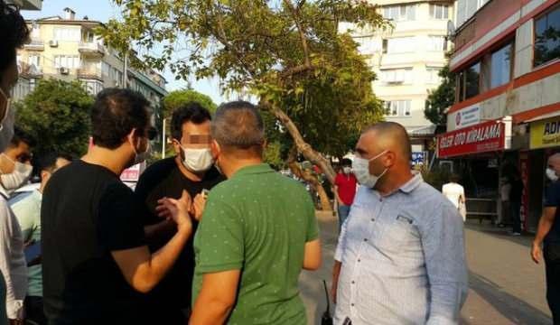 5 dakika arayla 2 kez maskesiz yakalandı!