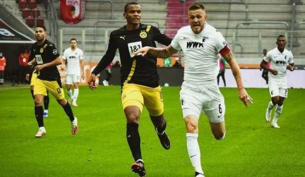 Augsburg'dan Dortmund'a şok darbe