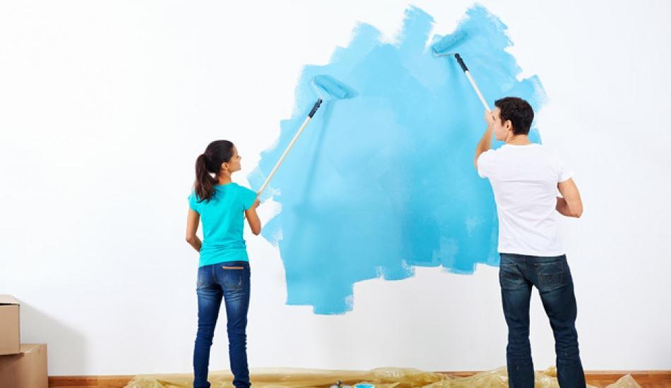 Ev nasıl boyanır? 1+1 ev nasıl boyanır! Evi boyarken nereden başlanmalı? Duvar nasıl boyanır