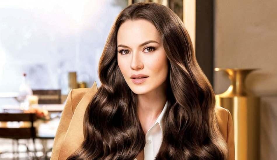 Fahriye Evcen, marka yüzü olduğu reklam filmi ile Orta Asya da!