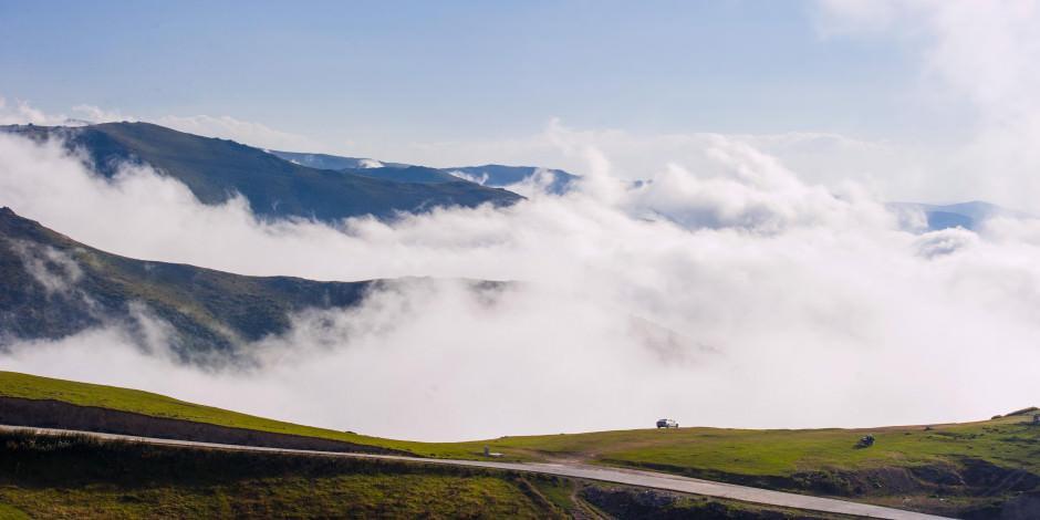 Herkesin mutlaka görmesi gereken bulutların üzerindeki yayla