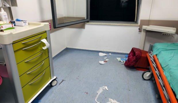 Sakarya'da sağlık çalışanına makaslı saldırı