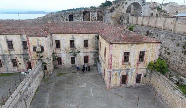 Sinop'taki tarihi cezaevinde 'Roma dönemi' kitabeleri bulundu