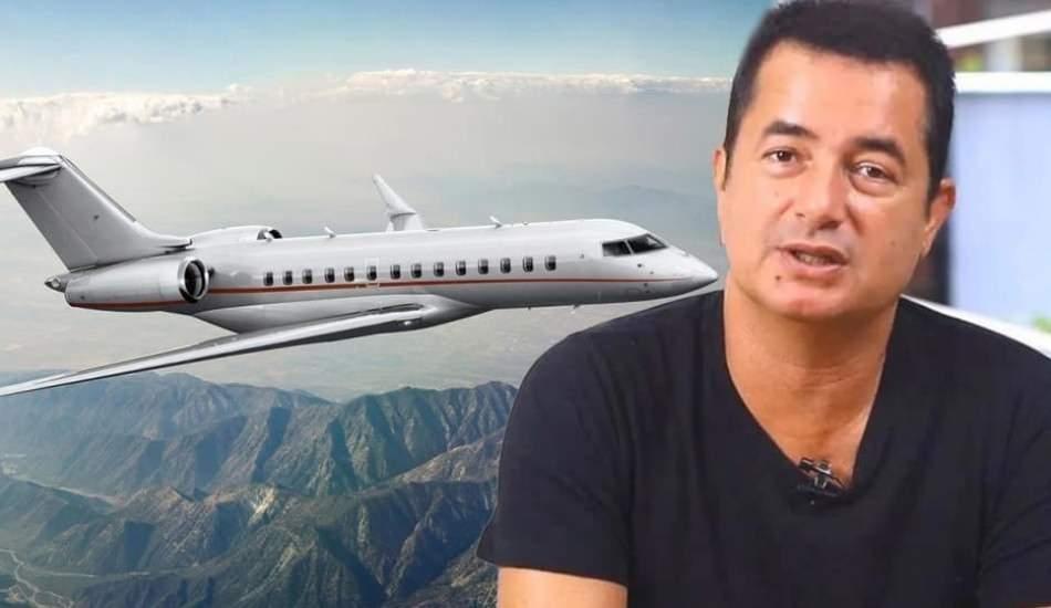 Yapımcı Acun Ilıcalı yeni uçak aldı! Fiyatı dudak uçuklattı...