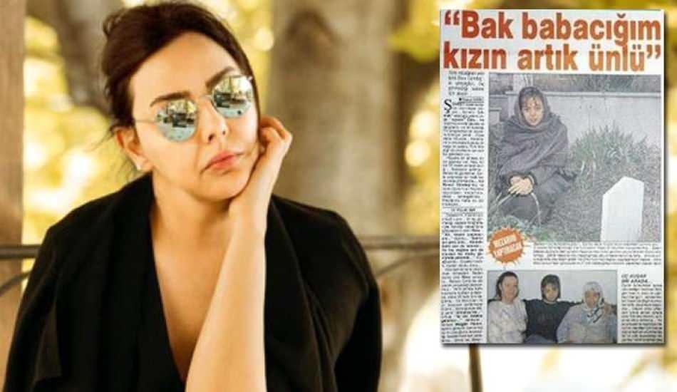 Seneler geçse de unutulmadı: Ebru Gündeş babası için sahte mezar önünde poz vermişti