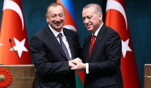 Aliyev'den Başkan Erdoğan ve Türkiye'ye teşekkür