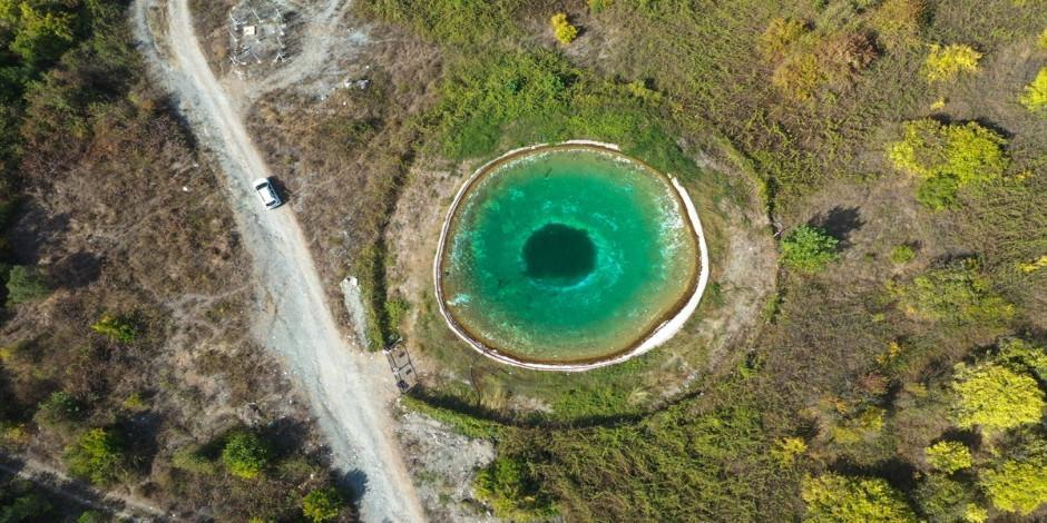 Amanos Dağları'nın nazar boncuğu: Yangın Göleti