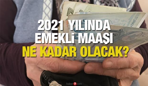 Emekli maaş 2021 zammı ne kadar olacak? SSK Bağ-Kur  ve memur zamlı emekli maaşları