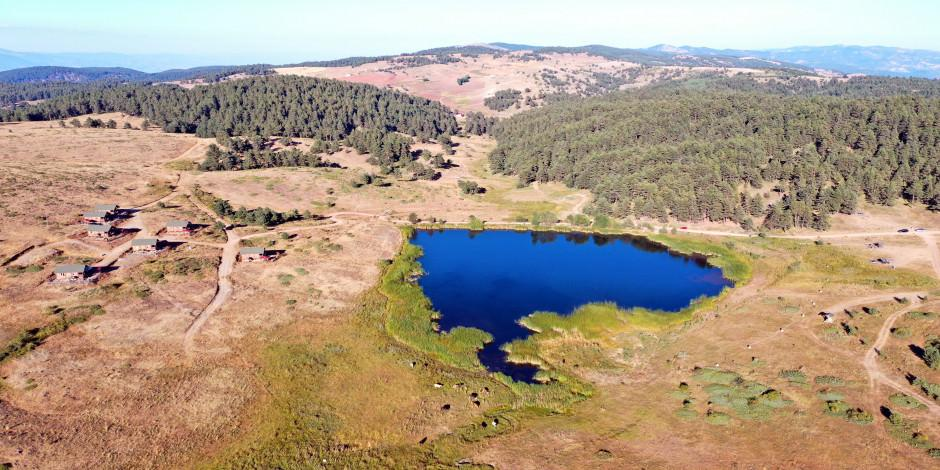 Hazım Dağlı Tabiat Parkı doğaseverlerin ilgisini çekiyor