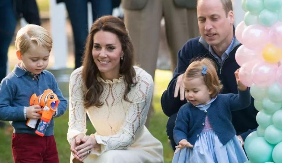 İngiliz Kraliyet Ailesi'nde küçülen giysileri diğer kardeş giyiyor!