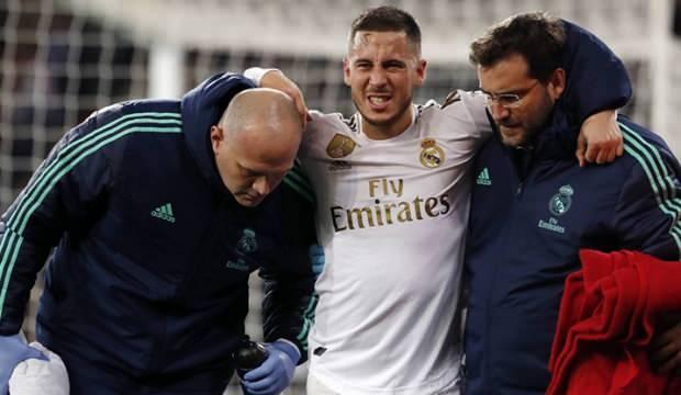 Real Madrid'e Hazard'dan kötü haber